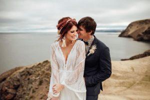 cairns tropical boho bride